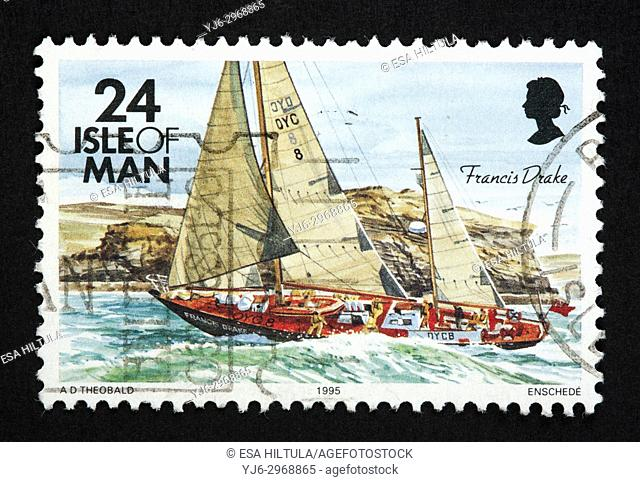 Isle of Man postage stamp