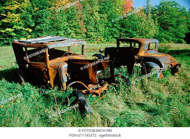 Junk cars in Vermont