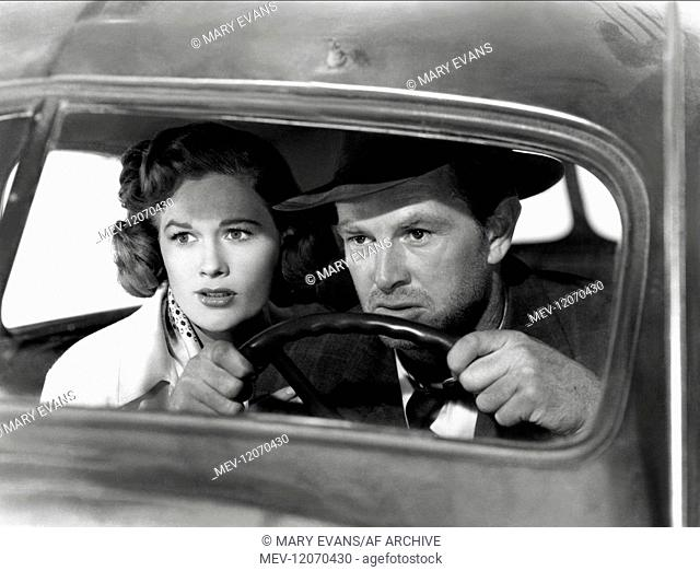 Jean Hagen & Sterling Hayden Characters: Doll Conovan & Dix Handley Film: The Asphalt Jungle (1956) Director: John Huston 23 May 1950