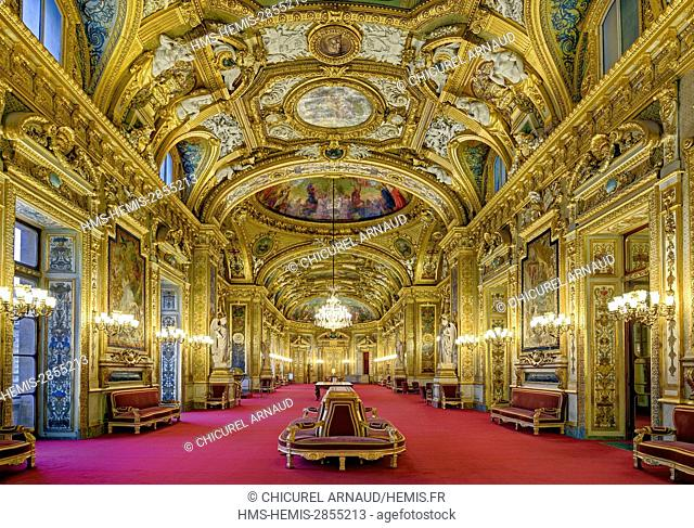 France, Paris, Luxembourg palace, the Senate, the Conferences room