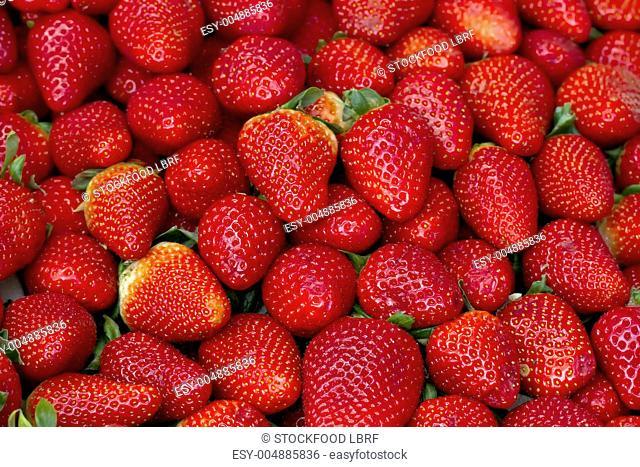 Strawberries full-frame