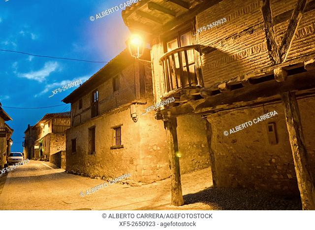 Typical Architecture, Calatañazor, Medieval Town, Soria, Castilla y León, Spain, Europe
