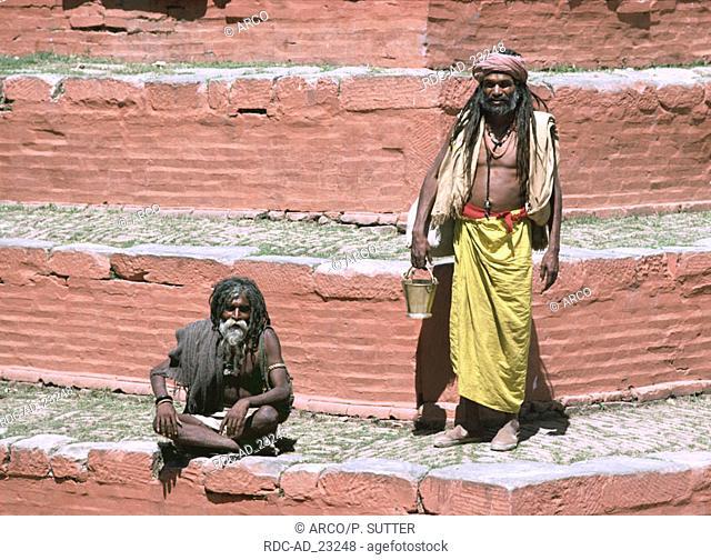 Beggar Kathmandu Nepal