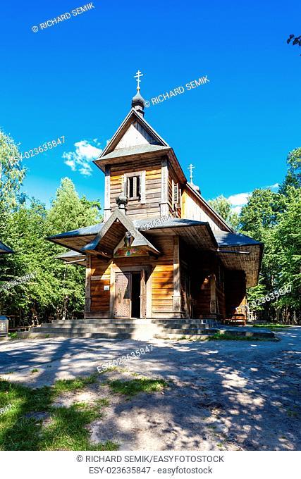 orthodox church, The Holy Mountain, Grabarka, Podlaskie Voivodeship, Poland