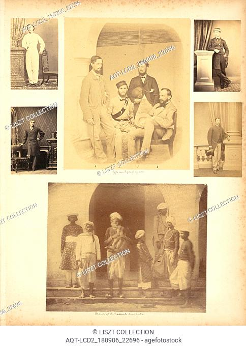 Portraits related to India and elsewhere, Photograph albums of Mrs. Lewis Percival, Percival family album, Albumen, 186-?