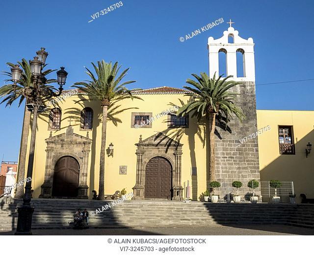 Iglesia de Nuestra. Senora. de los Ã. ngeles , Garachico, Tenerife, Ilas Canarias, Espagna