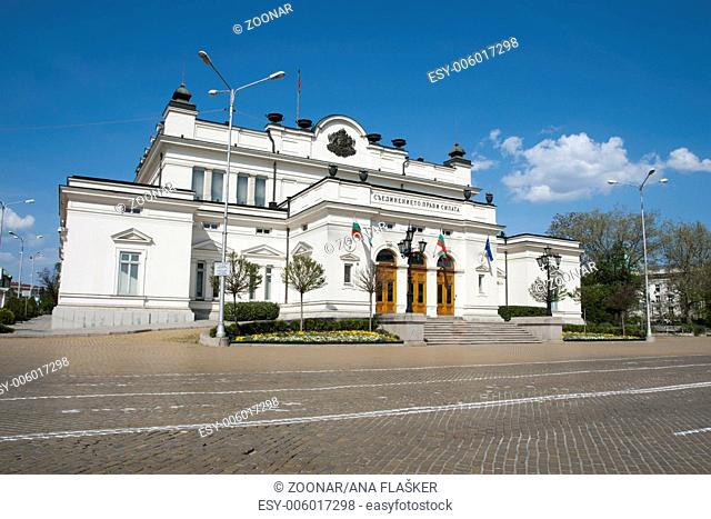National assembly of Bulgaria, Sofia