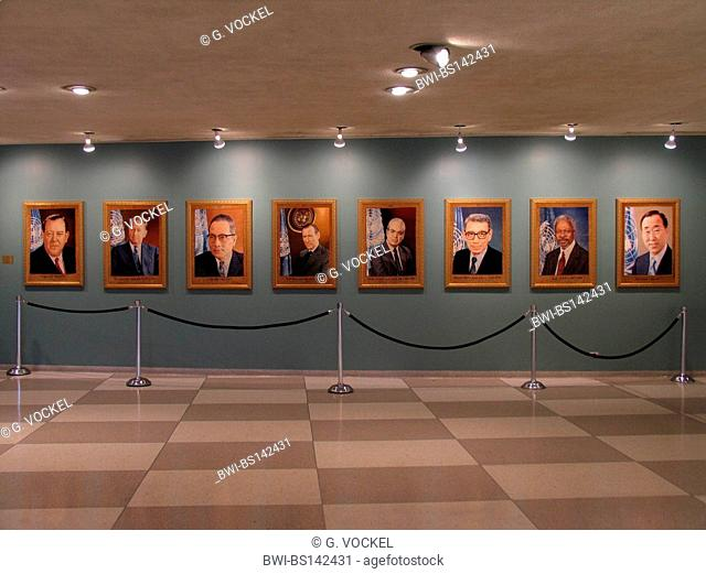 Gallery of previous Secretary Generals of the United Nations, USA, USA, New York (state)