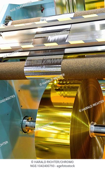 Manufacture of plastic film