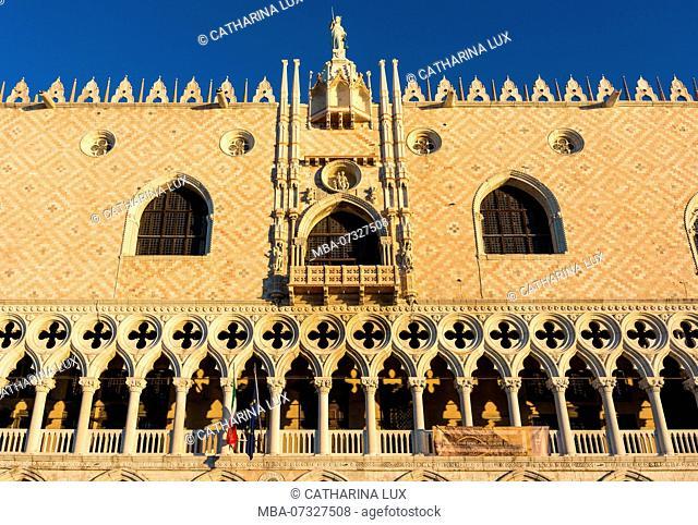 Venice, Doge's Palace, morning light