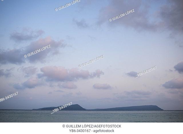 View of the Koh Rong Sanloem Island, Camboadia