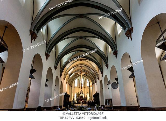 Italy, Aosta Valley, Aosta, the cathedral