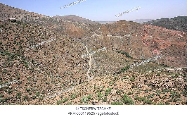 Atlas, Atlas Mountains, Morocco, North Africa, Africa