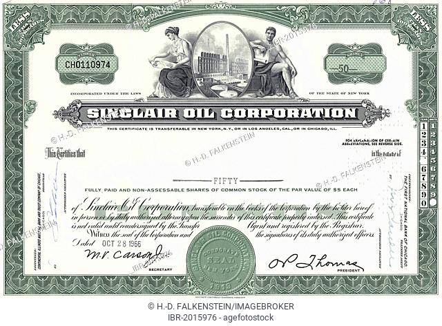 Sinclair Oil Stock Photos And Images Age Fotostock
