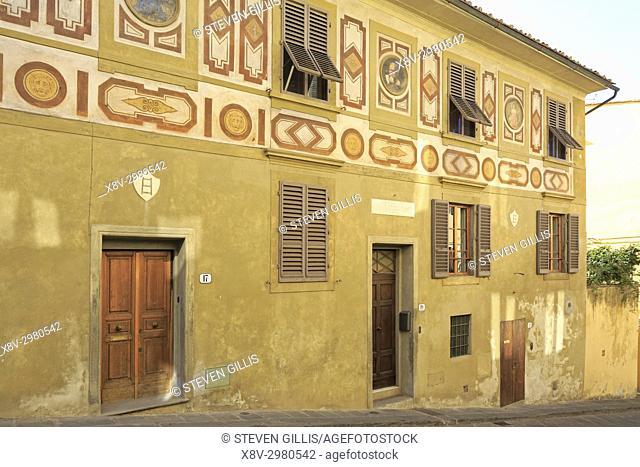 The House of Galileo Galilei, Florence, Tuscany, Italy, Europe