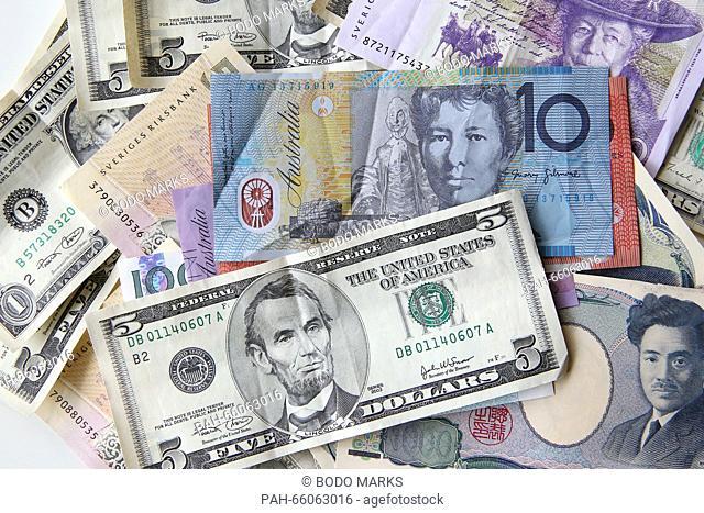 Australian Dollar Banknote Stock Photos