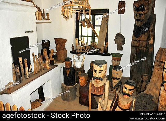 The Museum of the Kielce Region Countryside and the Ethnographic Park. Tokarnia, Swietokrzyskie Voivodeship, Poland