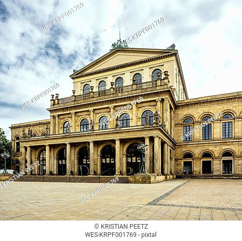 Germany, Lower Saxony, Hanover, State opera