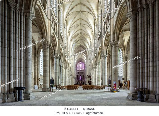 France, Aisne, Soissons, the cathedral