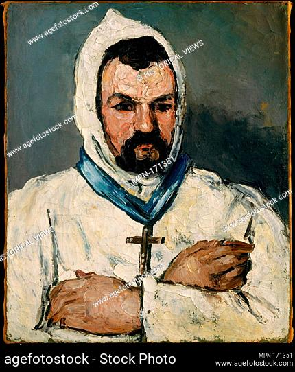 Antoine Dominique Sauveur Aubert (born 1817), the Artist's Uncle, as a Monk. Artist: Paul Cézanne (French, Aix-en-Provence 1839-1906 Aix-en-Provence); Date:...