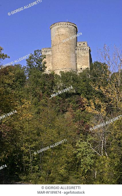 italy, lombardia, oltrepò pavese, val di nizza, castle of oramala