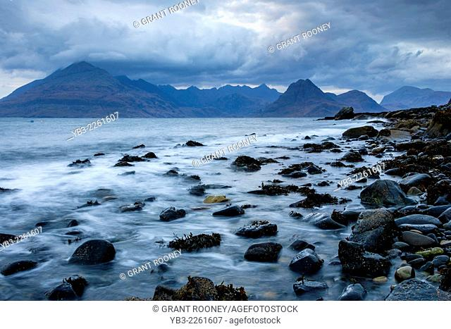 The Black Cuillin Mountains From Elgol, Isle of Skye, Scotland