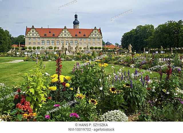 Weikersheim Castle, Main-Tauber-District, Baden-Wuerttemberg, Germany