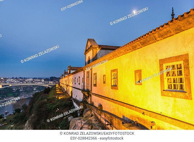 Augustinians Monastery of Serra do Pilar in Vila Nova de Gaia city, Grande Porto subregion in Portugal