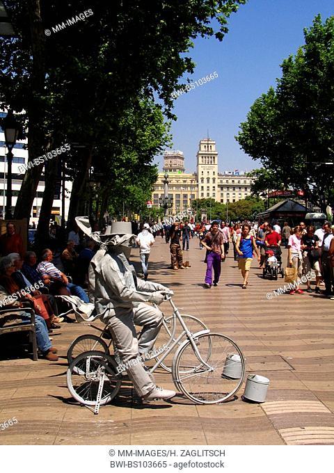 La Rambla, Spain, Barcelona