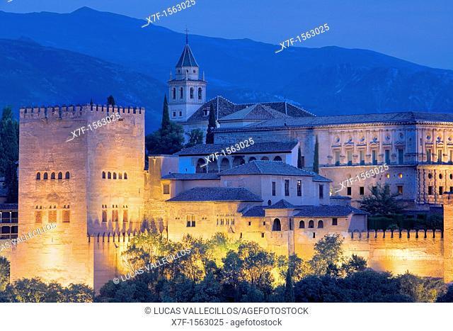 Alhambra, Granada Andalusia, Spain