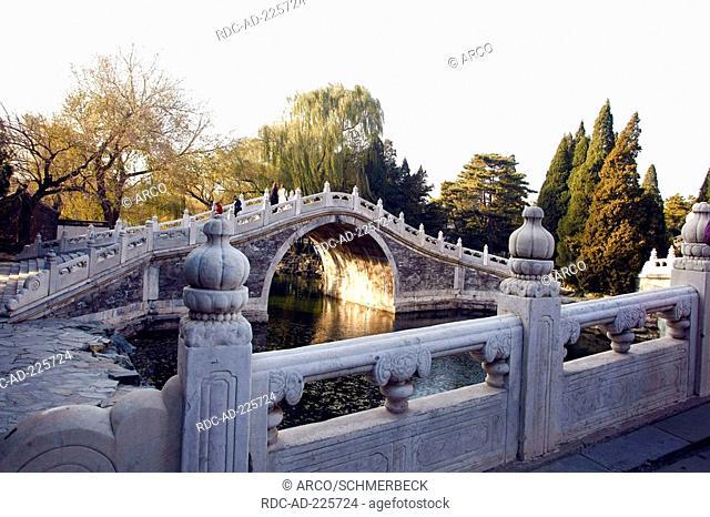 Bridge, New Summer Palace, Beijing, China