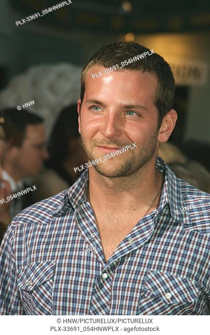 Bradley Cooper  06/28/04 ANCHORMAN - THE LEGEND OF RON BURGUNDY @ Grauman's Chinese Theatre, Hollywood Photo by Kazumi Nakamoto/HNW / PictureLux (June 28, 2004)