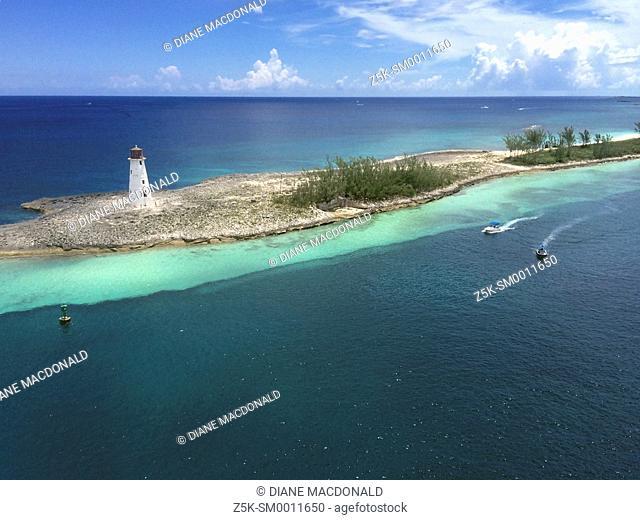 Paradise Island Lighthouse, Nassau, Bahamas