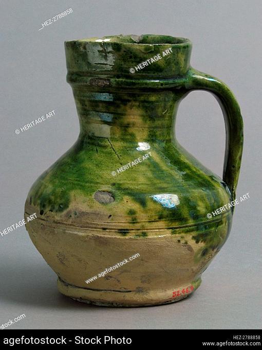 Jug, British, 15th-16th century. Creator: Unknown