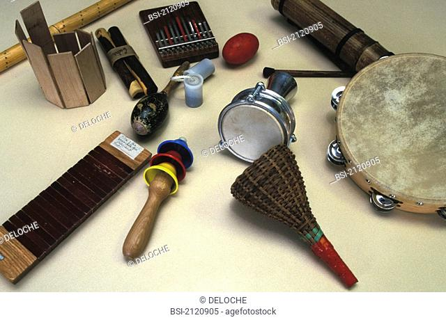 Music therapy instruments
