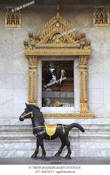 Thailand, Bangkok, Wat Chana Songkhram, buddhist temple,