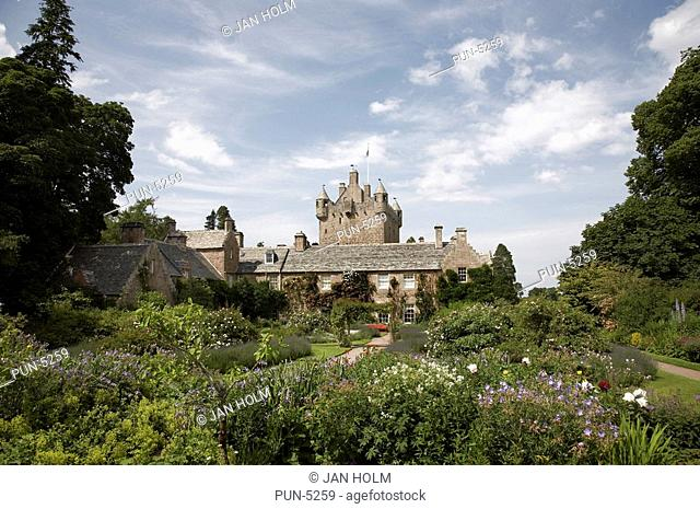 Cawdor castle and gardens in Nairn