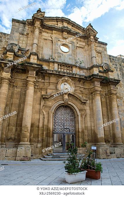 Italy, Sicily, Mazara del Vallo, St. Ignazio church