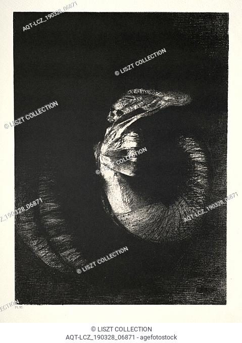 The Temptation of St. Anthony, 1888. Odilon Redon (French, 1840-1916). Lithograph