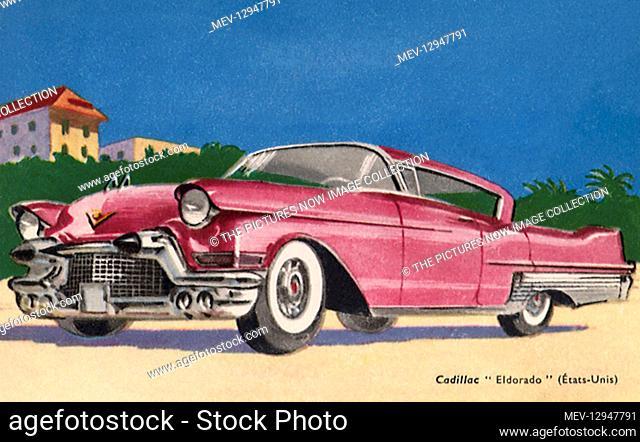 1957 Cadillac Series 62 Coupe 2 Door Hardtop