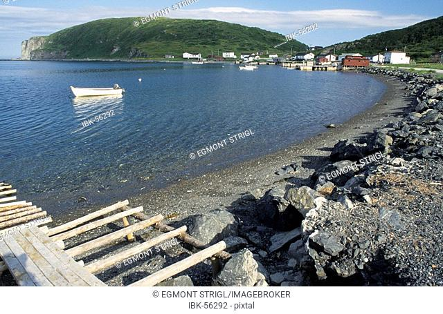 Fishing harbour of Quirpon, Newfoundland