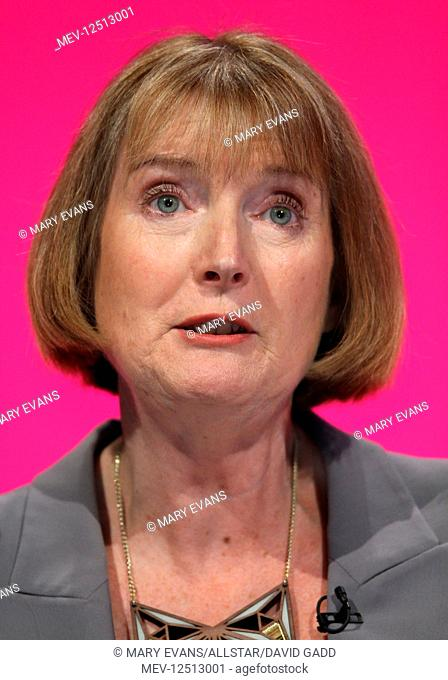 Harriet Harman MP Deputy Labour Party Leader Labour Party Conference 2014 Manchester Central, Manchester, England 24 September 2014