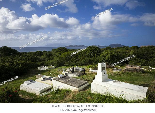 St. Kitts and Nevis, Nevis, Vaughans, St. Thomas Anglican Church, graveyard