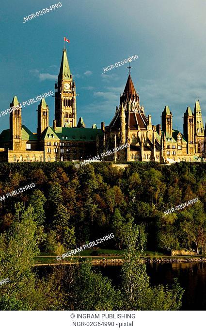 Canadian Cities, Parliament Buildings, Ottawa Ontario Canada