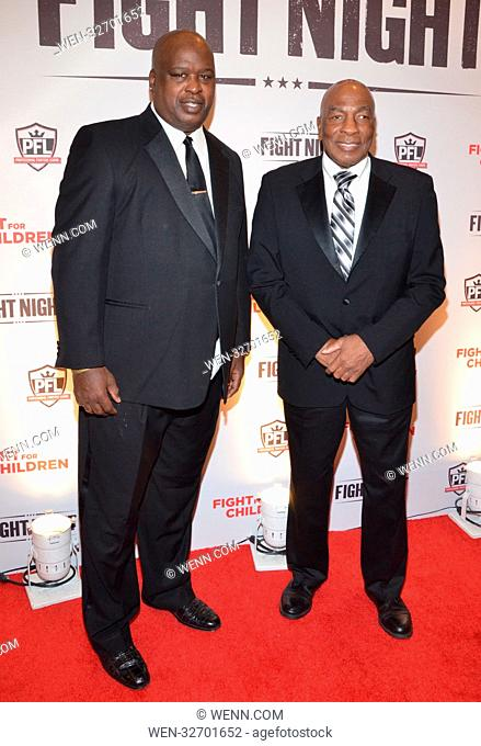 Fight Night - Fight for Children - Arrivals Featuring: Buster Douglas, Earnie Shavers Where: Washington DC, District Of Columbia
