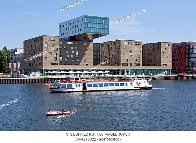 Nhow Hotel at the Spree, Berlin, Germany