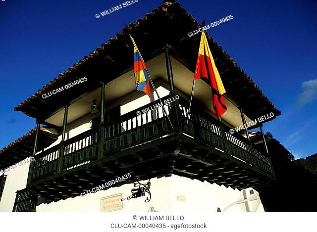 House of Florero Llorente, Square of Bolivar, Bogota, Cundinamarca, Colombia