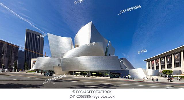 Walt Disney Concert Hall. Los Angeles, USA