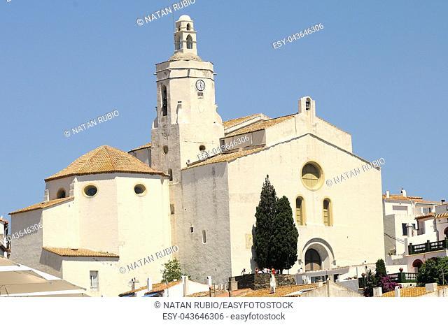 Cadaques Church, Girona, Catalonia, Spain