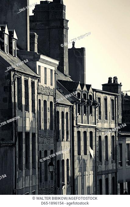 France, Normandy Region, Manche Department, Granville, Haut Ville, Upper Town, buildings